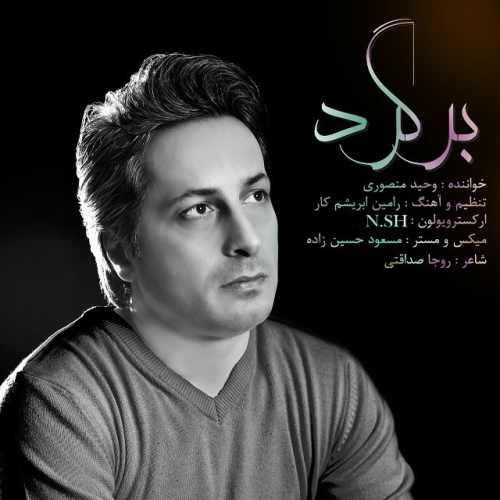 دانلود موزیک جدید برگرد از وحید منصوری