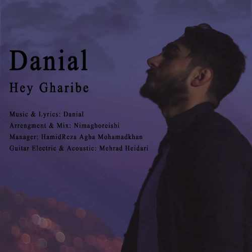 دانلود موزیک جدید هی غریبه از دانیال