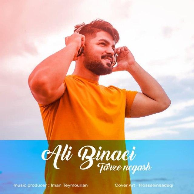 دانلود موزیک جدید طرز نگات از علی بینایی