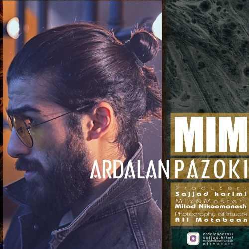 دانلود موزیک جدید میم از اردلان پازوکی