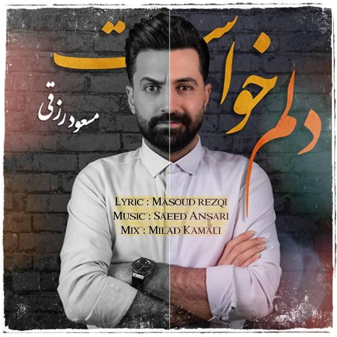 دانلود موزیک جدید دلم خواست از مسعود رزقی