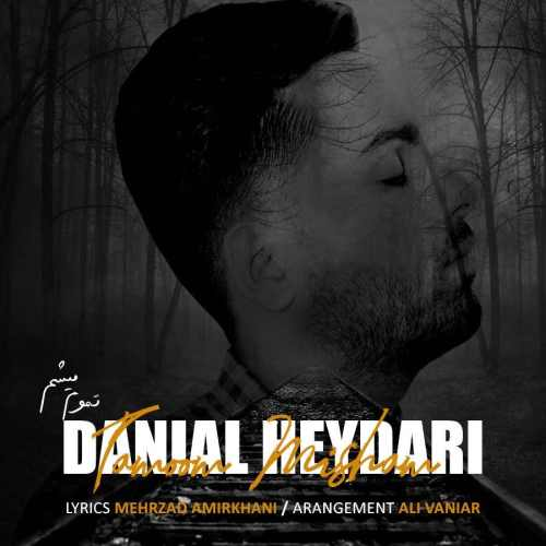 دانلود موزیک جدید تموم میشم از دانیال حیدری