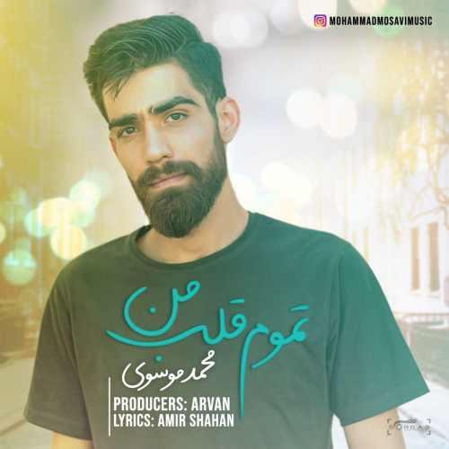 دانلود موزیک جدید تموم قلب من از محمد موسوی