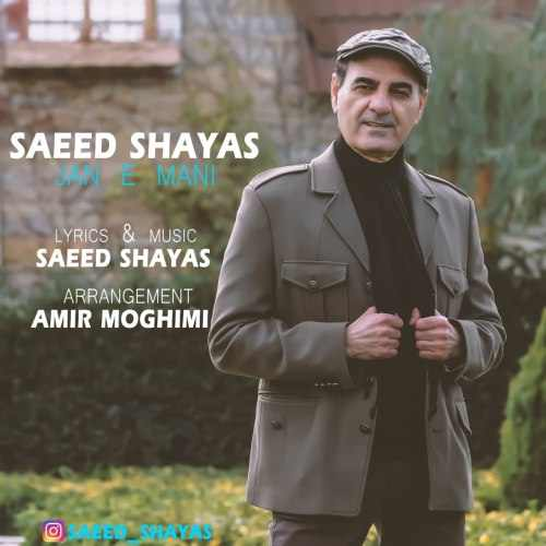 دانلود موزیک جدید جان منی از سعید شایاس