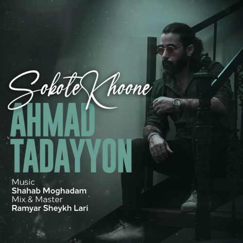 دانلود موزیک جدید سکوت خونه از احمد تدین