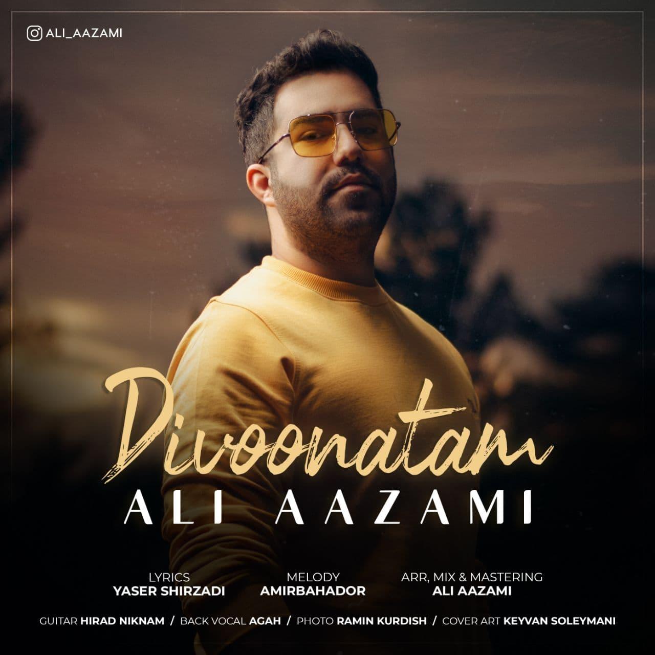 دانلود موزیک جدید دیوونتم از علی اعظمی