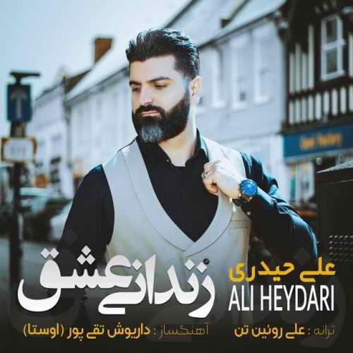 دانلود موزیک جدید زندانی عشق از علی حیدری