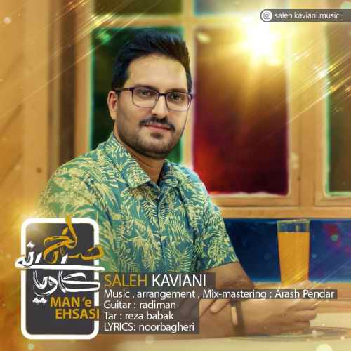 دانلود موزیک جدید منه احساسی از صالح کاویانی